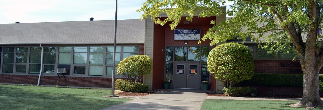 Washington Elementary front exterior