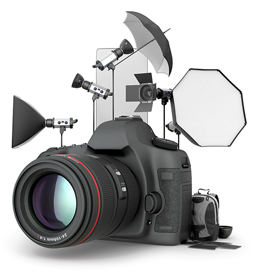 Camera and Studio Photography Equipment