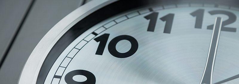 analog clock cropped