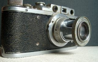 Old 35mm camera